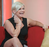 Керри Катона, фото 452. Kerry Katona Makes an appearance on 'Daybreak' in London - 05.01.2012, foto 452