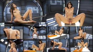 FUCKING MACHINES: Jul 27, 2016 - Sophia Leone/Fresh meat, Sophia Leone gets machine fucked for the first time.