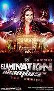 Stephanie McMahon - WWE Elimination Chamber 2014 Poster