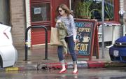 Мэнди Мур, фото 3378. Mandy Moore - leaving Little Dom's restaurant in California 02/15/12, foto 3378