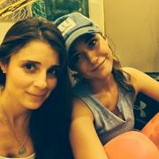 Shiri Appleby And Emmanuelle Chriqui Sisters From Another Mother Instagram Pic