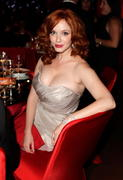 christina hendircks cleavage emmys 2012